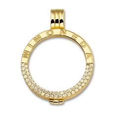 Mi Moneda Mi Moneda Classic pendant Deluxe Gold Plated
