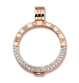 Mi Moneda Mi Moneda Classic pendant Deluxe Rosé Gold Plated