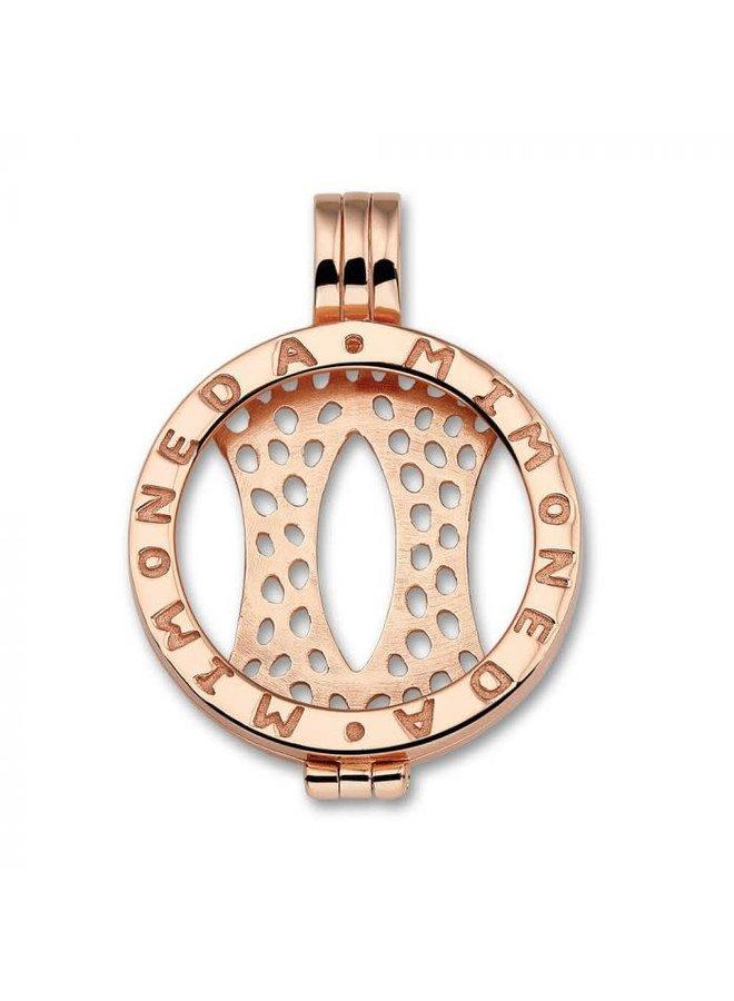 Mi Moneda Classic pendant Rosé Gold Plated