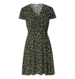 MbyM MbyM dress Janne B55 Lavana Leaf Print