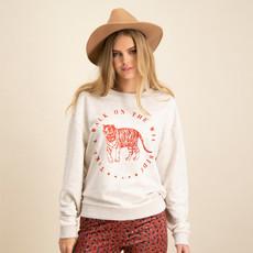 Catwalk Junkie Catwalk Junkie sweater Bandit Coconut Melange