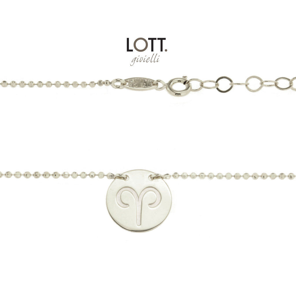 LOTT. Gioielli LOTT. Zodiac Collection ketting Ram Large