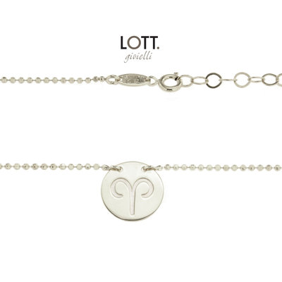 LOTT. Gioielli LOTT. Zodiac Collection ketting Ram Large