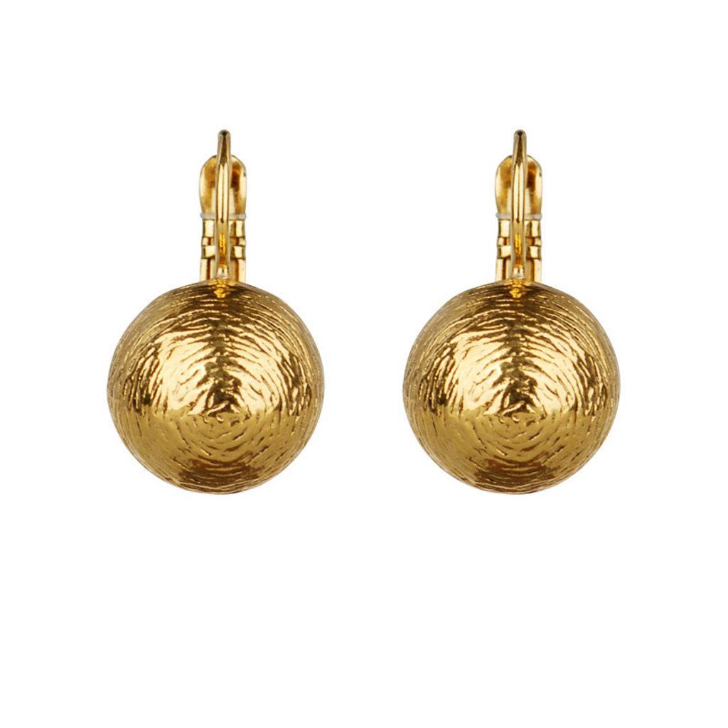 Camps & Camps oorbellen Gold Plated 1D234 D