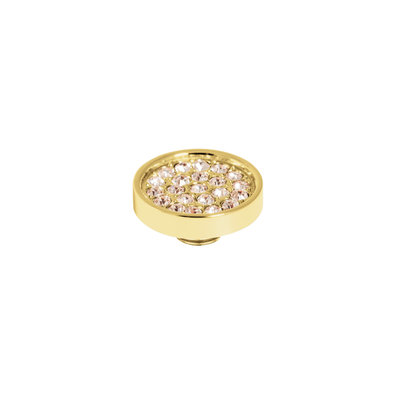 Melano Melano Vivid meddy CZ Plate Gold Plated Champagne