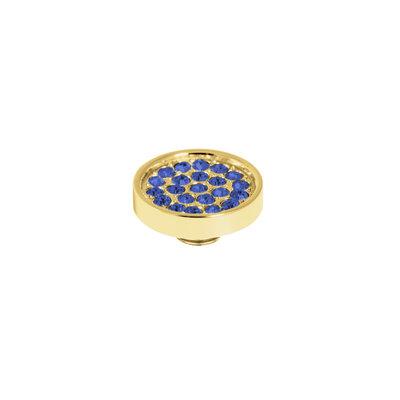 0c9201df526 Melano Melano Vivid meddy CZ Plate Gold Plated Sapphire