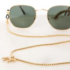 Sunny Cords Sunny Cords zonnebrillenkoord Jaguar Style Goud