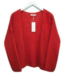 Alexandre Laurent Alexandre Laurent vest Pull Mohair Red