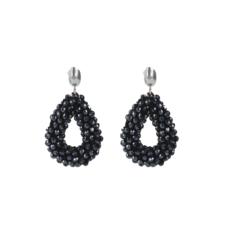 LOTT. Gioielli LOTT. Exclusive Collection oorbellen Glassberry Drop S Black