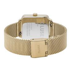 CLUSE CLUSE Horloge La Tétragone Mesh Full Gold CL60015