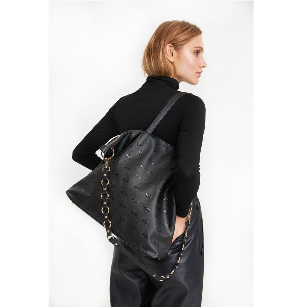 ALIX The Label ALIX tas Faux Leather Black