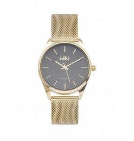 IKKI IKKI horloge Jacky JCK05 Gold Black