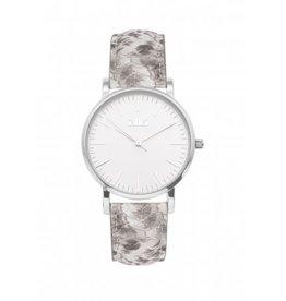 IKKI IKKI horloge Jamy JM17 Python Silver