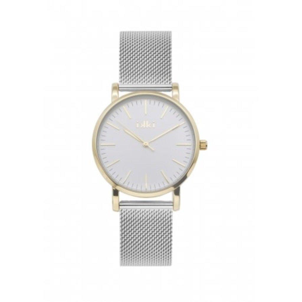 IKKI IKKI horloge Rose RSE03 Silver Gold