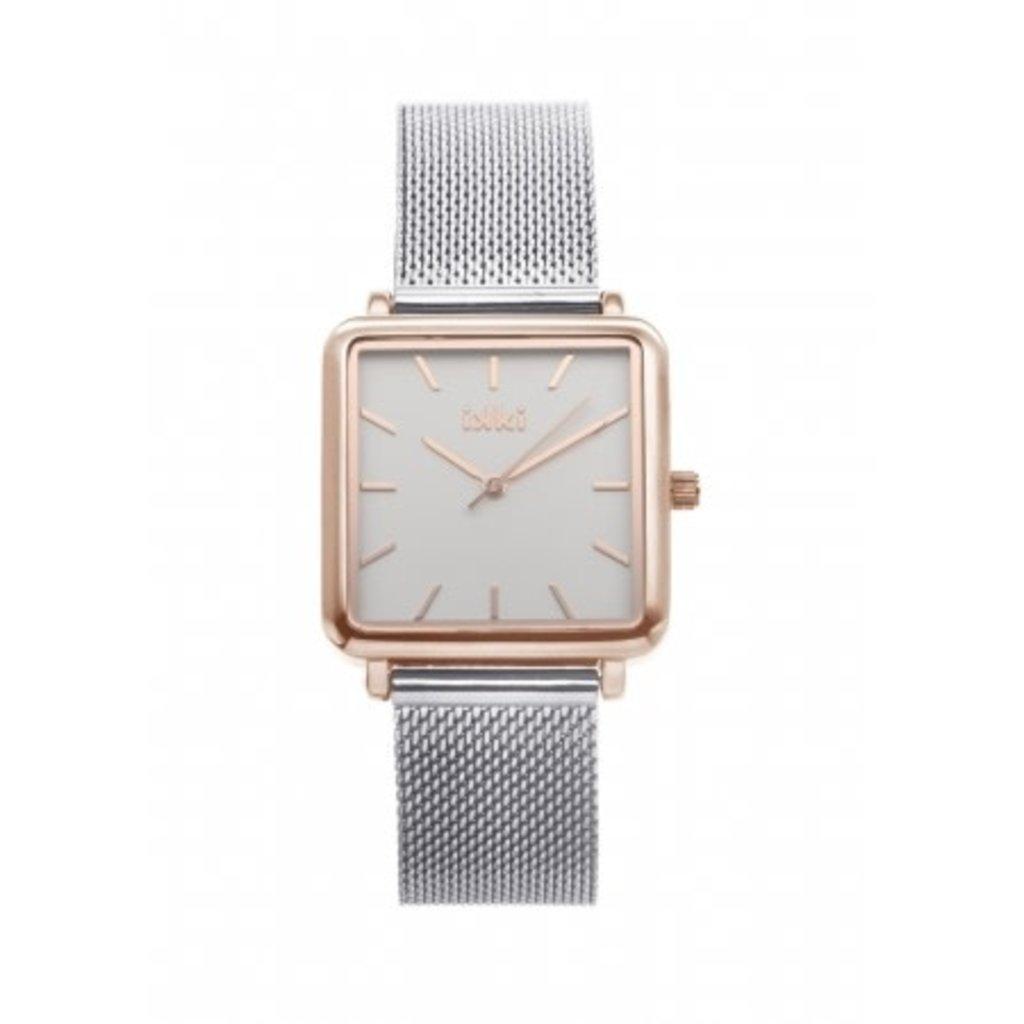 IKKI IKKI horloge Tenzin TE04 Silver Rose Gold