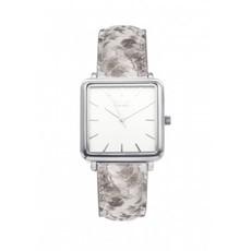 IKKI IKKI horloge Tenzin TE13 Python Silver