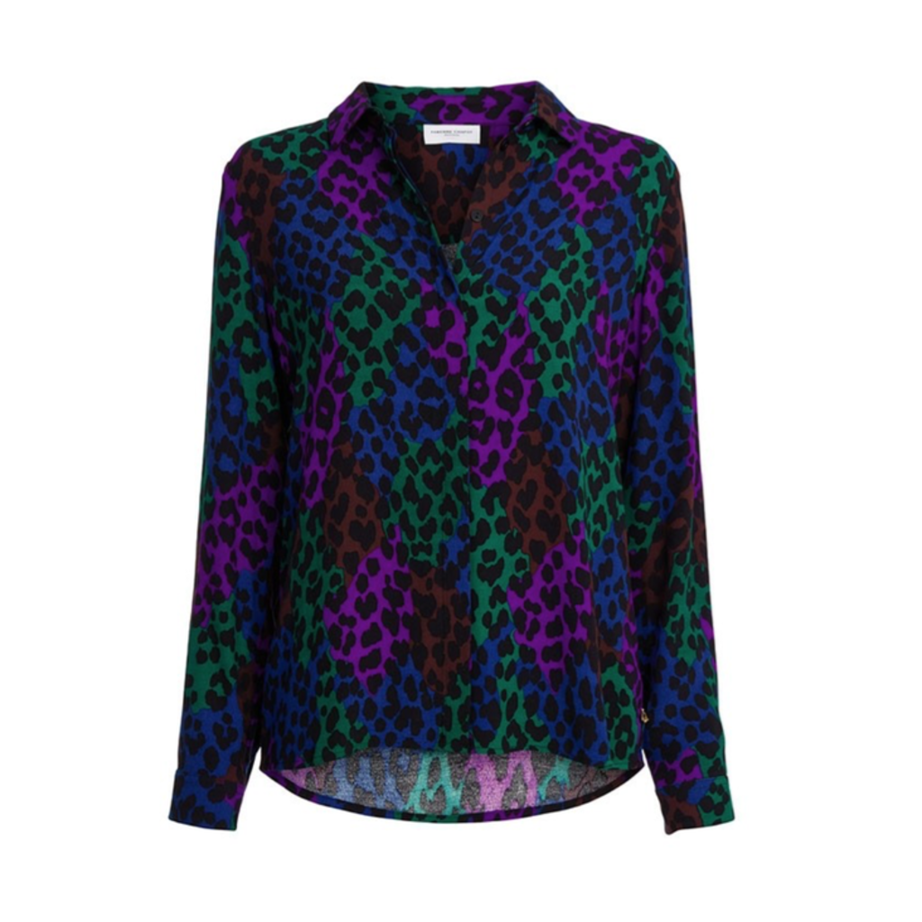 Fabienne Chapot Fabienne Chapot Perfect blouse Black Patchy Leopard