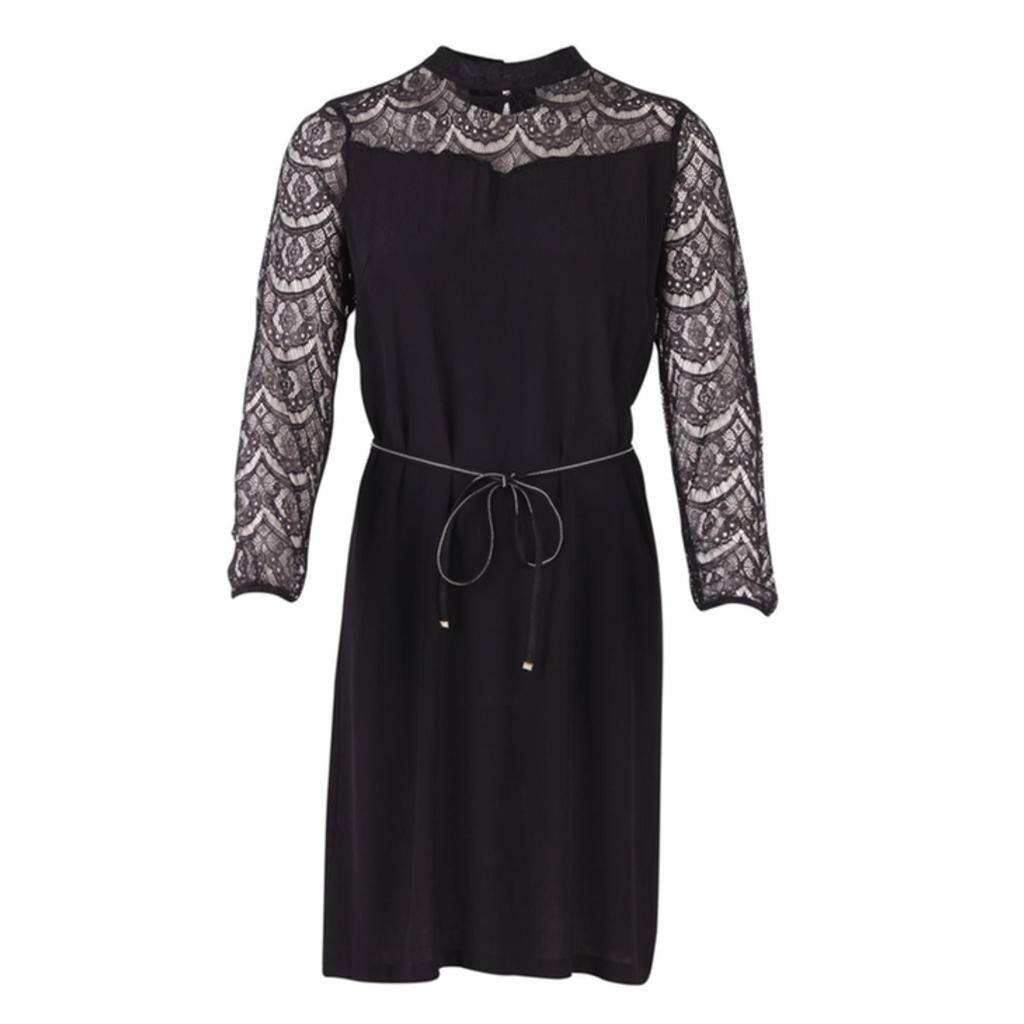 Saint Tropez Saint Tropez U6037 Woven dress 0001 Black