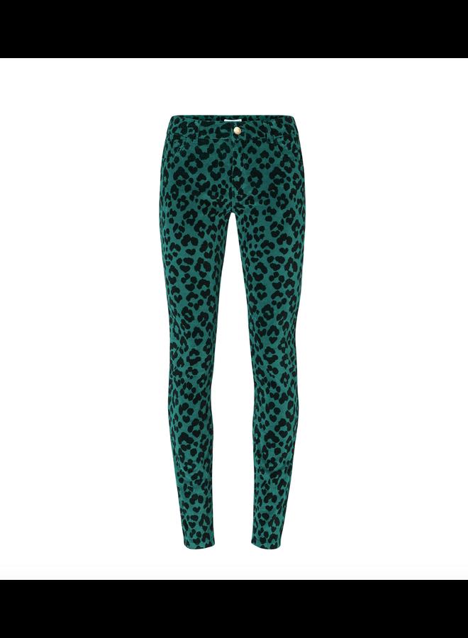 Fabienne Chapot broek Sierra Penny Leopard Groen