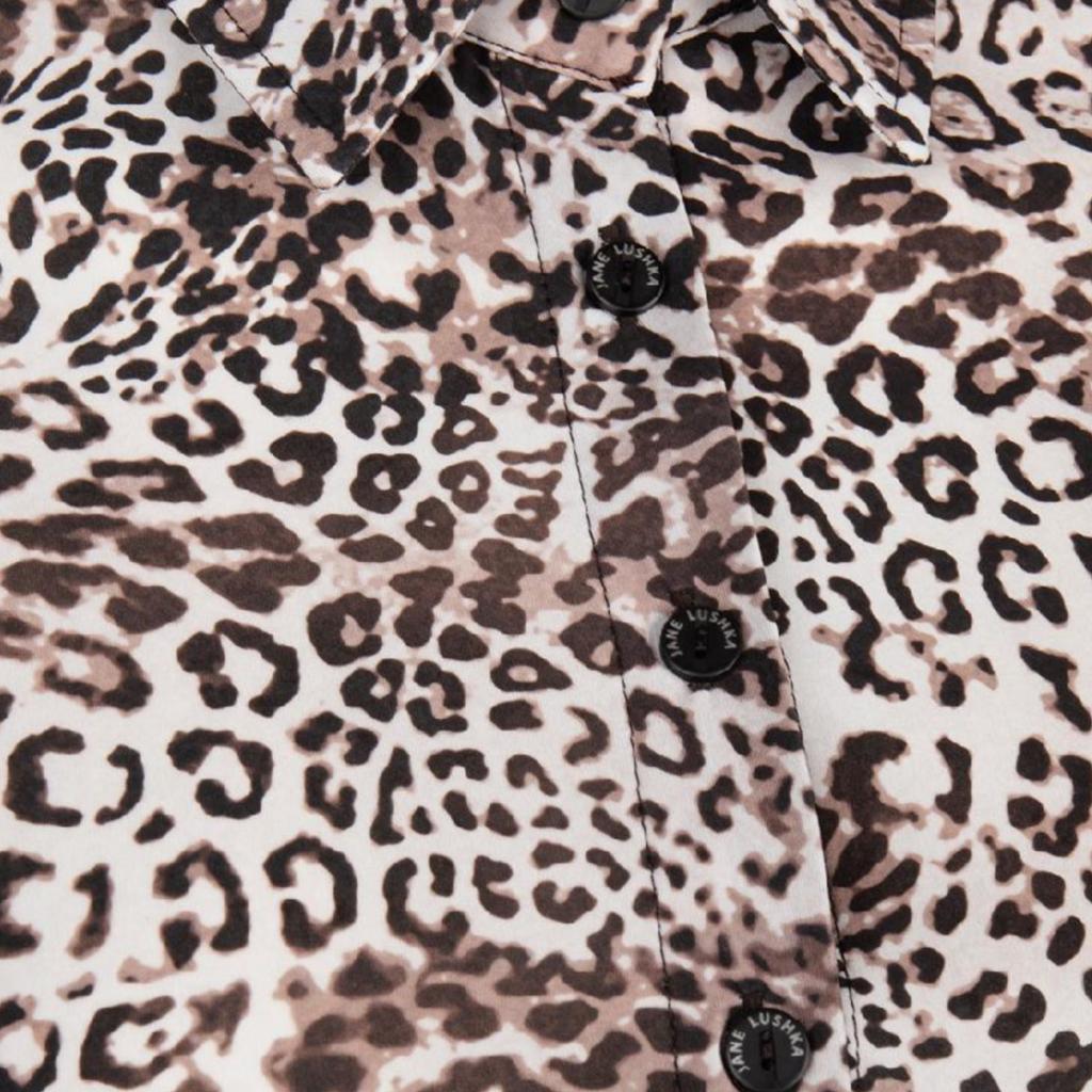Jane Lushka Jane Lushka blouse UA719AW10 Animal Ecru