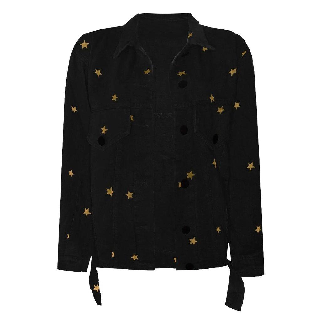 Ambika Ambika jacket Lois Stars Black/Gold
