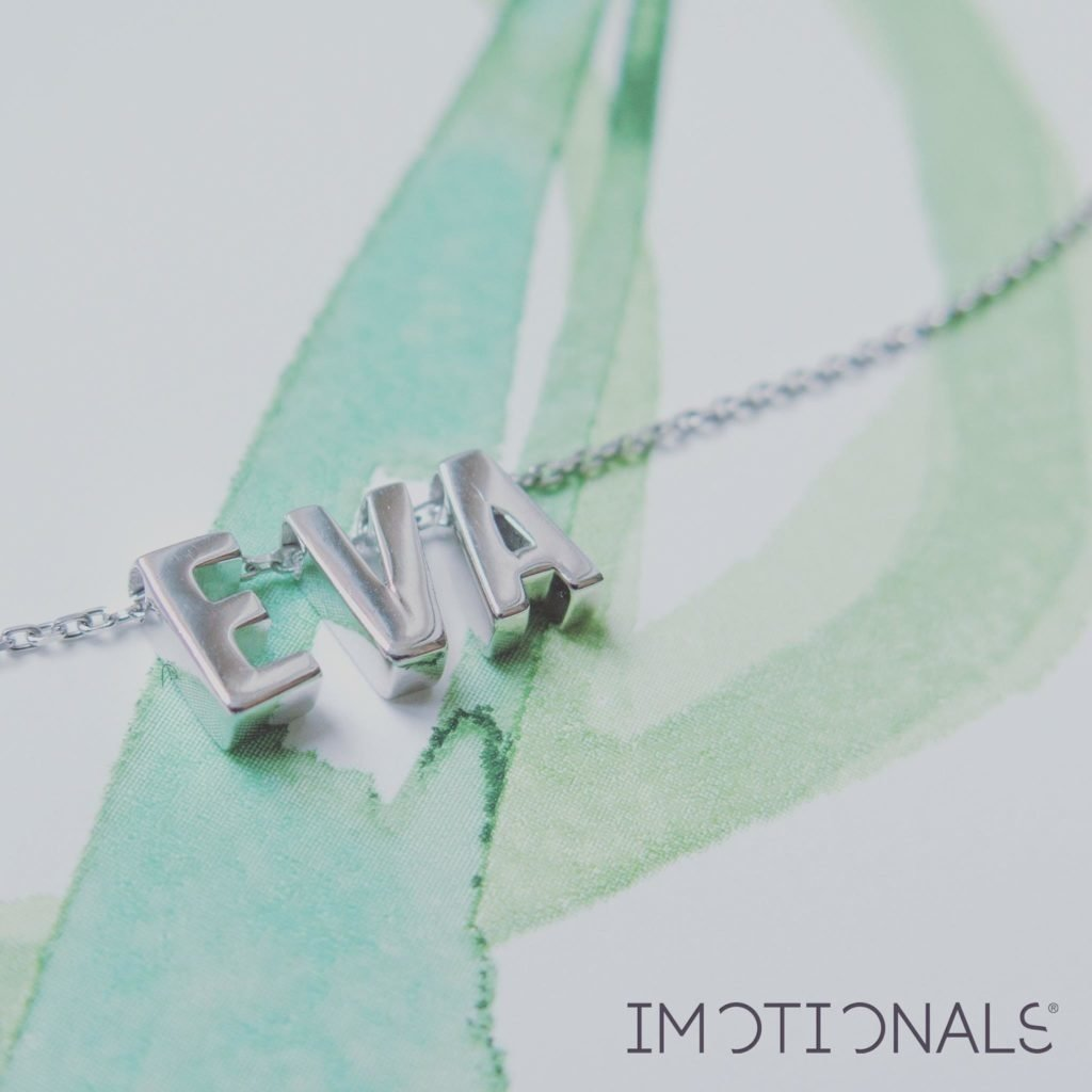 Imotionals Imotionals letterA-Z Silver