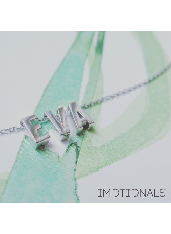 Imotionals letterA-Z Silver