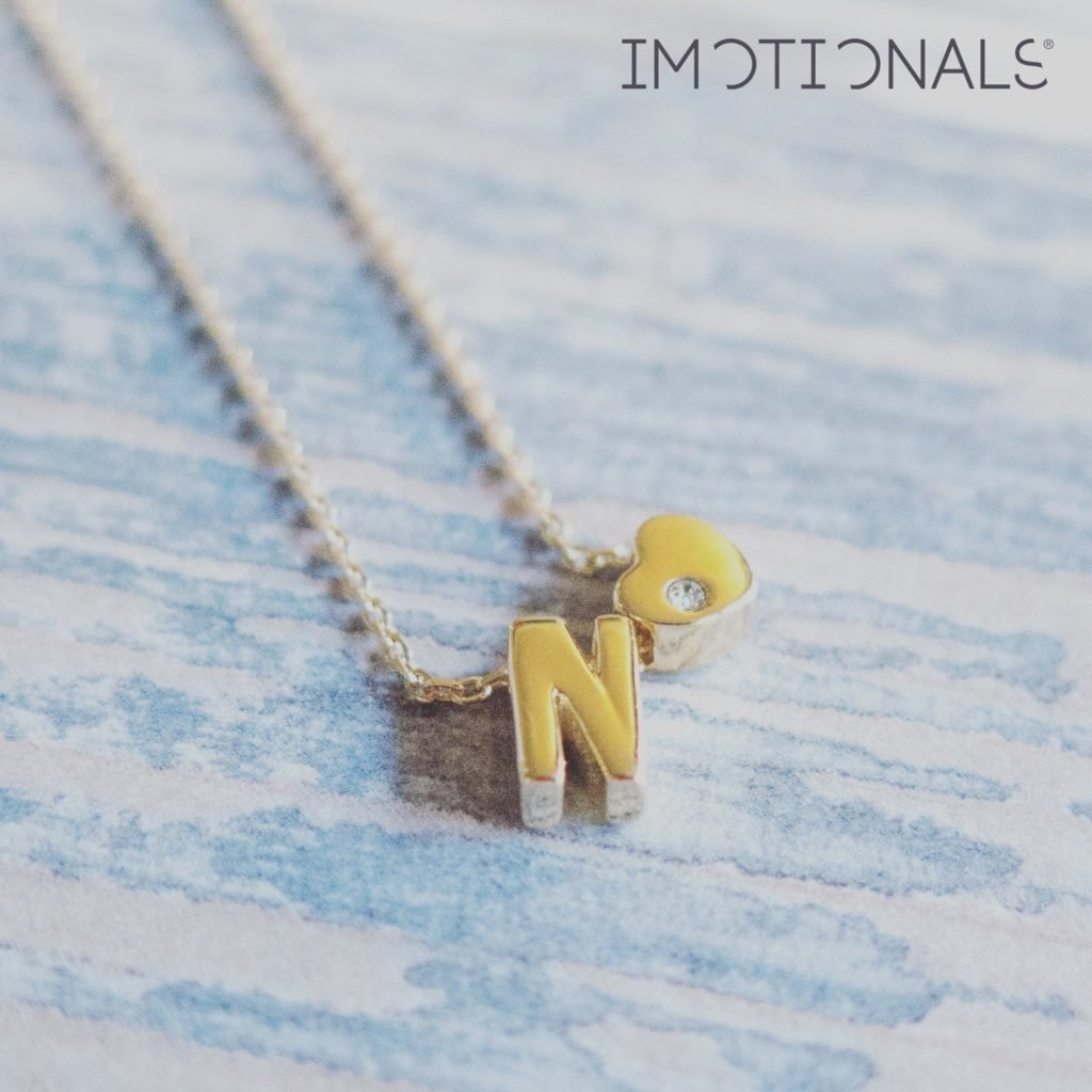 Imotionals Imotionals letter Goud