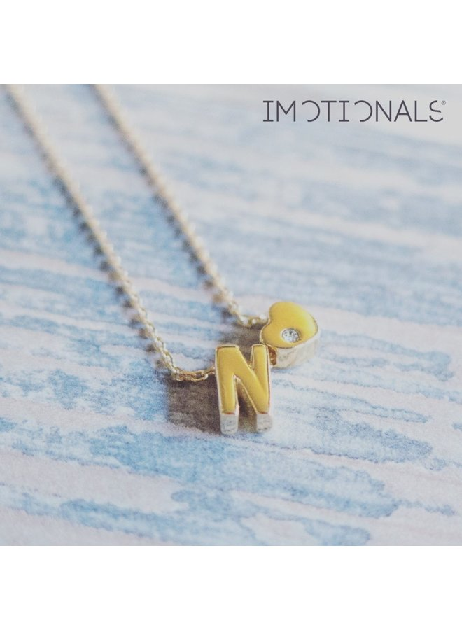 Imotionals letter Goud