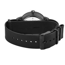 CLUSE CLUSE horloge Aravis Nato Leather Black CW0101501010