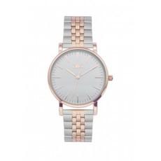IKKI IKKI horloge Jamy JM21 Silver/Rosé Gold
