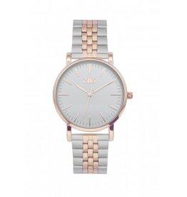 IKKI IKKI horloge Jamy JM21 Silver Rosé Gold