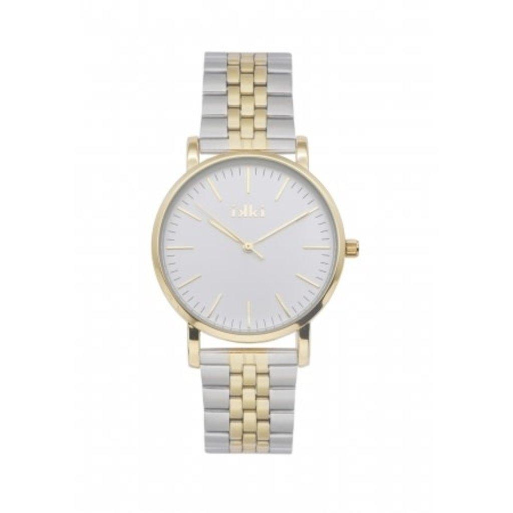 IKKI IKKI horloge Jamy JM22 Silver Gold