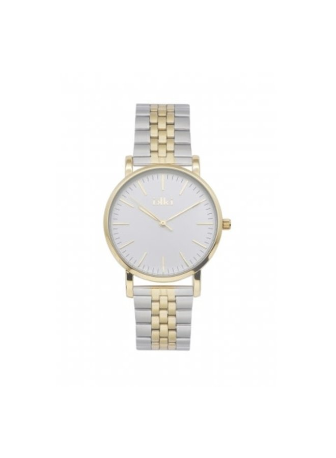 IKKI horloge Jamy JM22 Silver/Gold