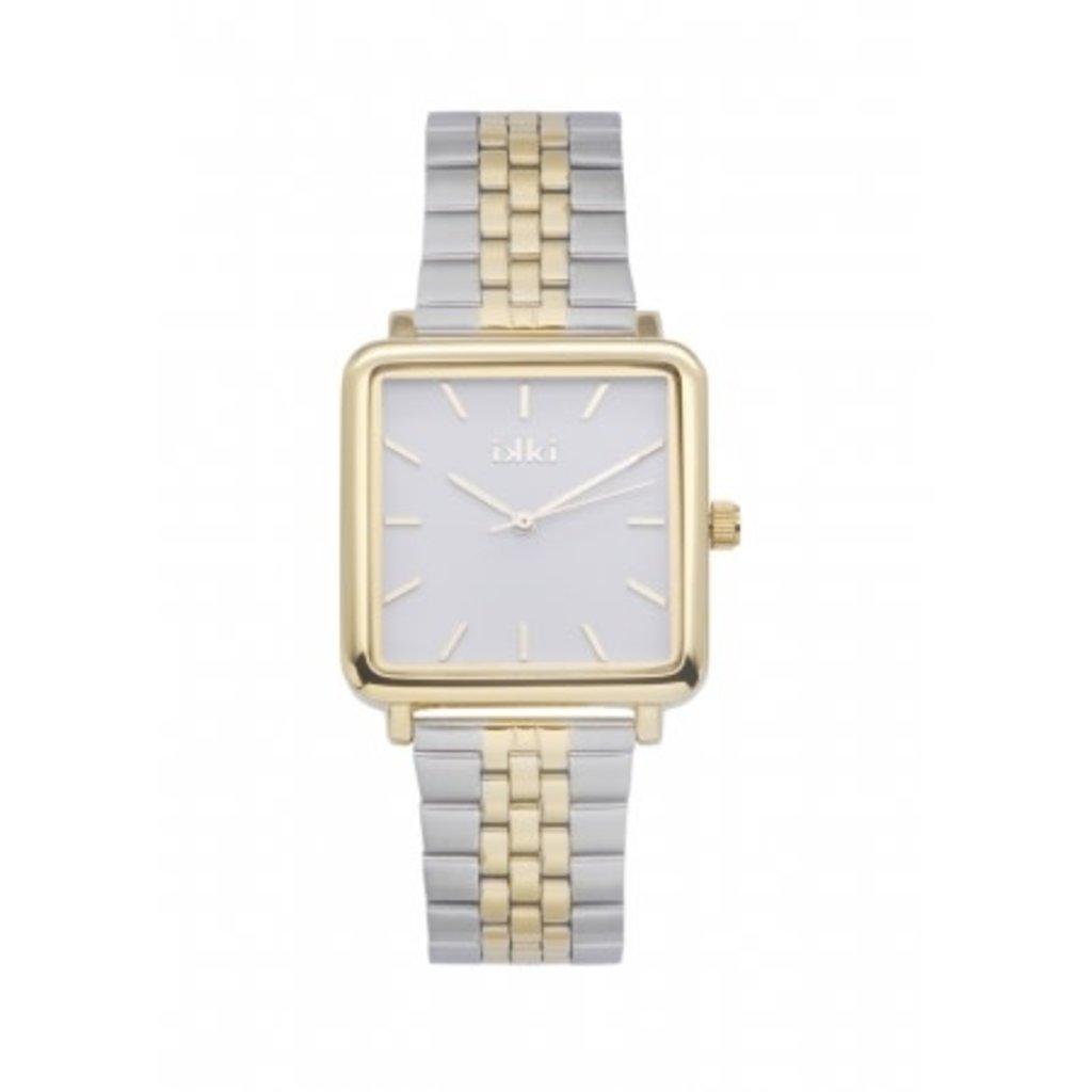 IKKI IKKI horloge Tenzin TE16 Silver Gold