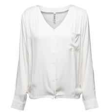 Zoso Zoso blouse 194 Aura Crepe Off White