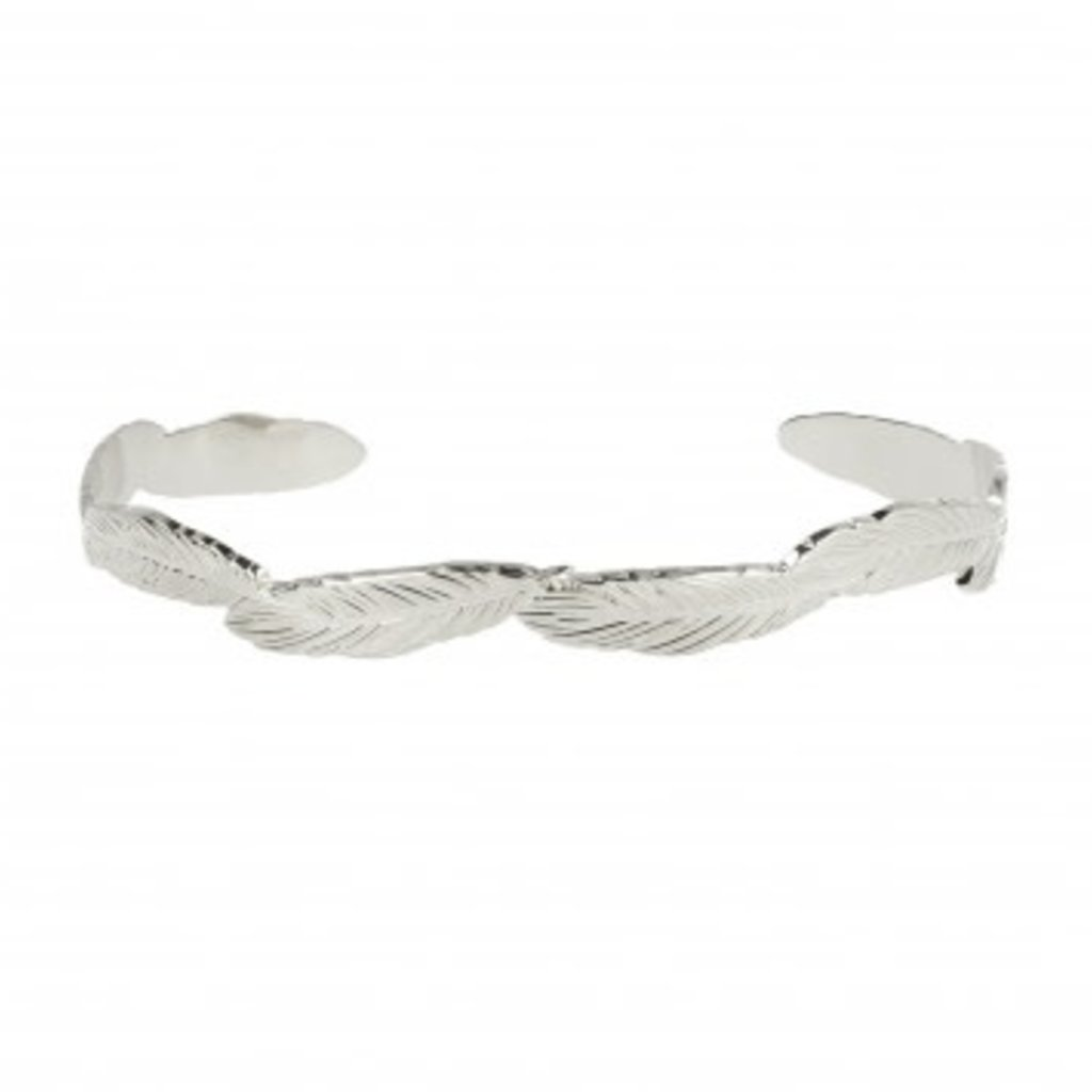 LOTT. Gioielli LOTT. Originals Only armband Feather Silver Plated