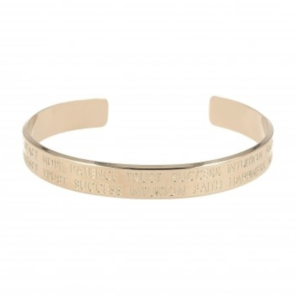LOTT. Gioielli LOTT. Originals Only armband Quote Rosé Gold Plated M