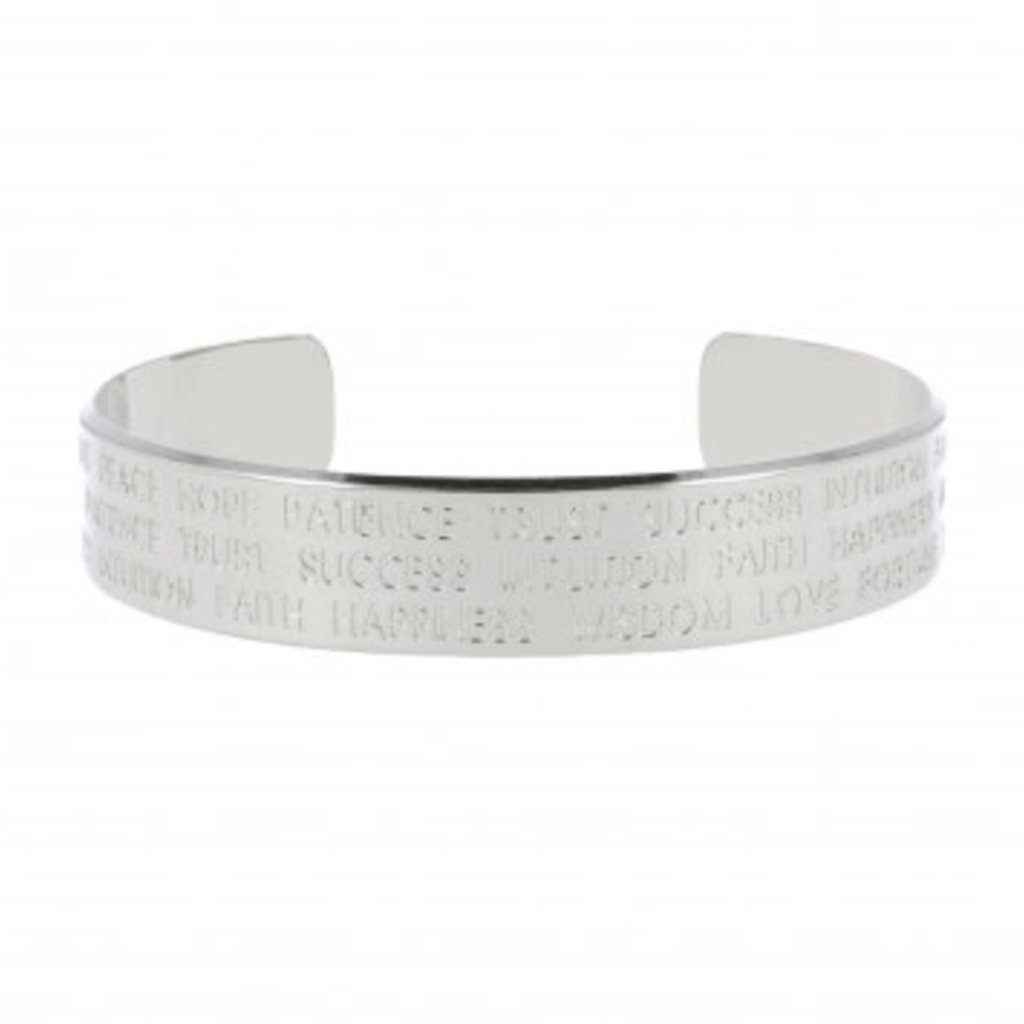 LOTT. Gioielli LOTT. Originals Only armband Quote Silver Plated L