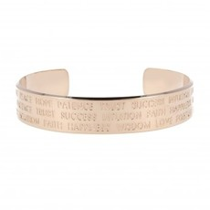 LOTT. Gioielli LOTT. Originals Only armband Quote Rosé Gold Plated L