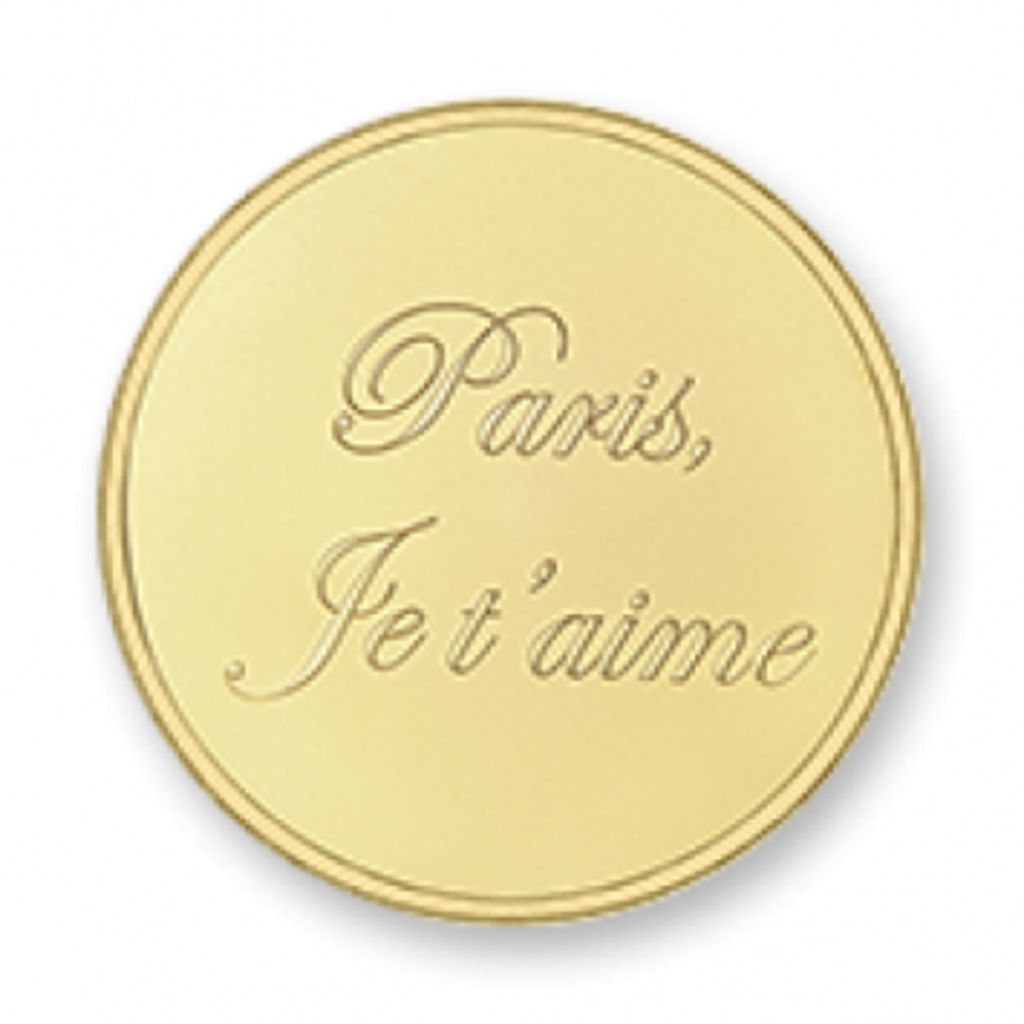 Mi Moneda Mi Moneda munt Paris Gold Plated