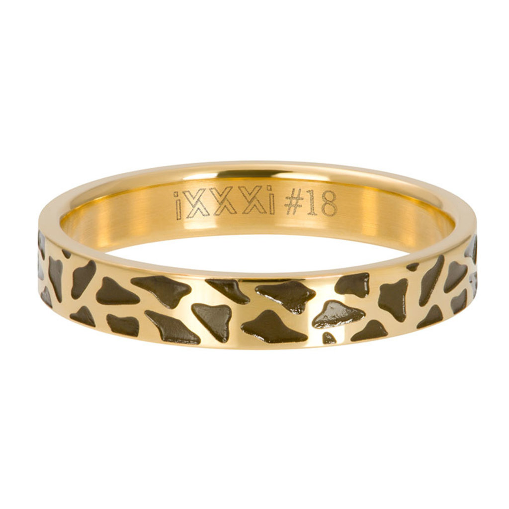 iXXXi Jewelry iXXXi vulring 4 mm Panther Gold Plated