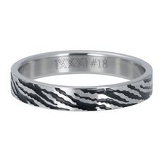 iXXXi Jewelry iXXXi vulring 4 mm Zebra Silver
