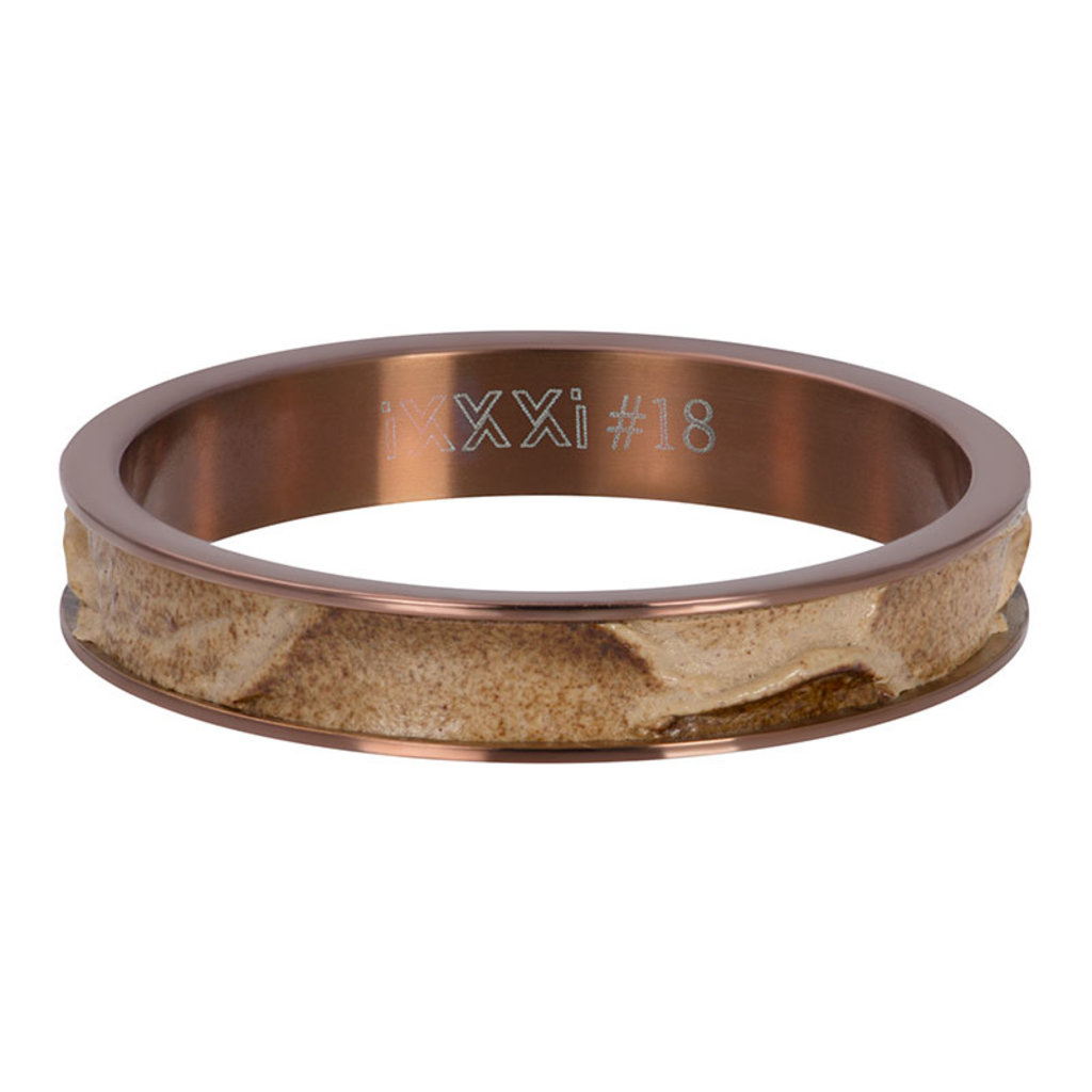 iXXXi Jewelry iXXXi vulring 4 mm Crocodile Brown