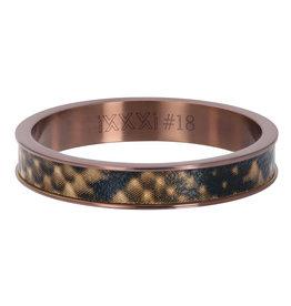 iXXXi Jewelry iXXXi vulring 4 mm Leopard Brown