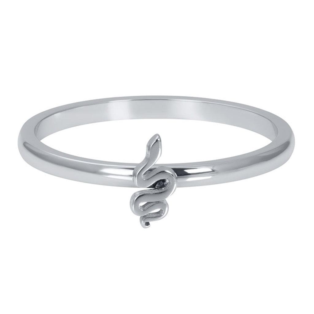 iXXXi Jewelry iXXXi vulring 2 mm Symbol Snake Silver