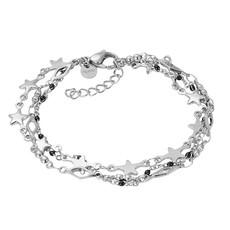 iXXXi Jewelry iXXXi armband Kenya (black beads) Silver