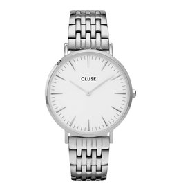 CLUSE CLUSE horloge La Bohème CW0101201023 Silver White