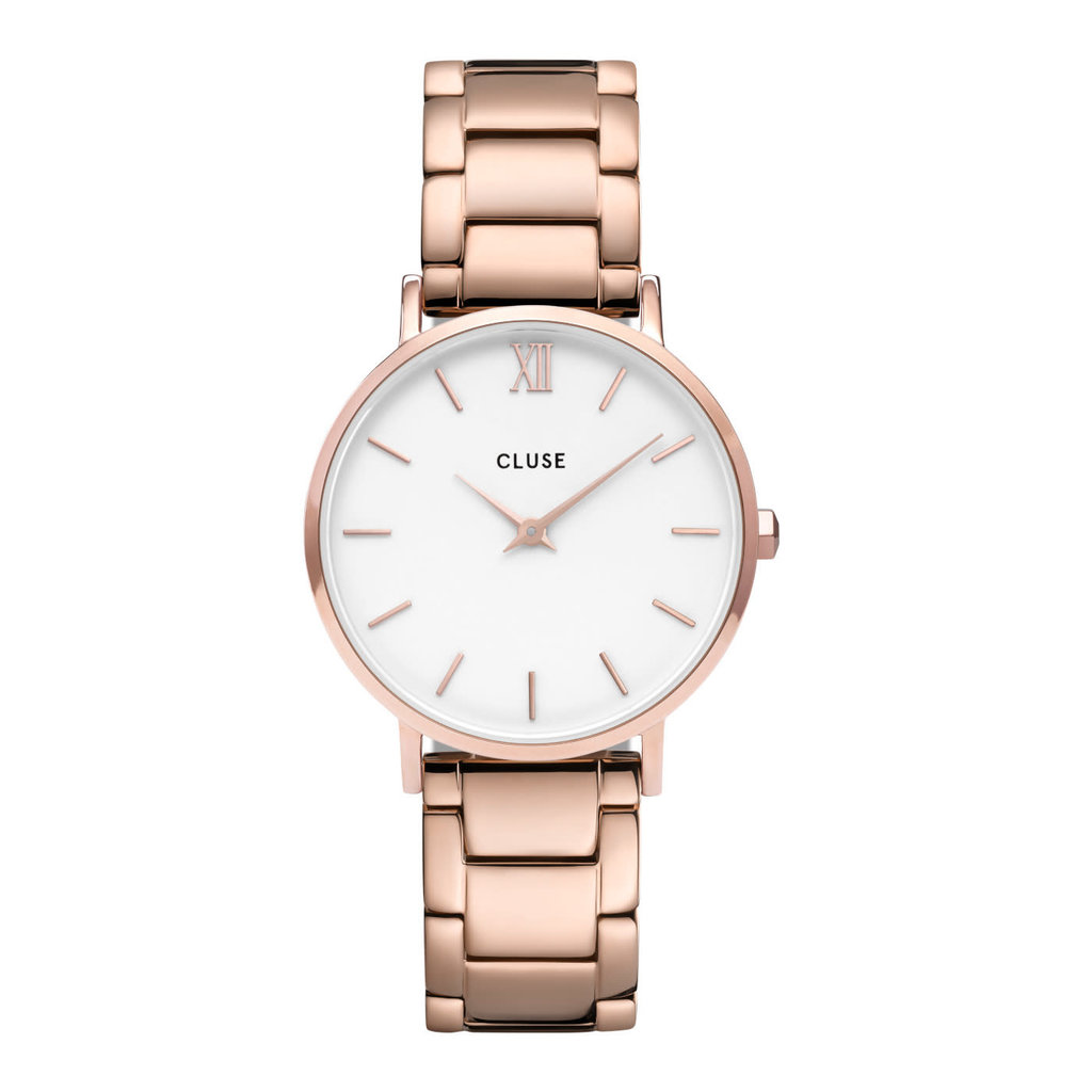 CLUSE CLUSE horloge Minuit CW0101203027 Rose Gold White/Rose