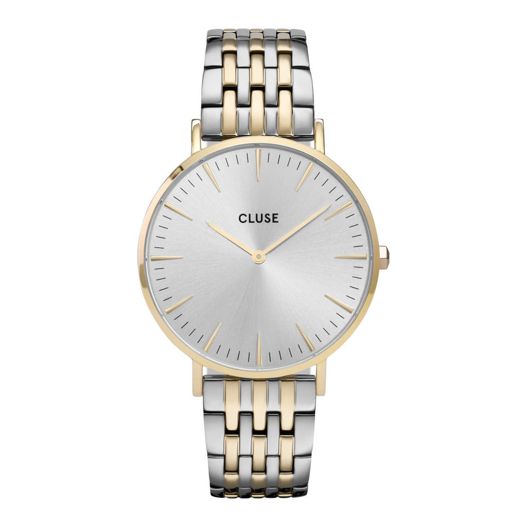 CLUSE CLUSE horloge La Bohème CW0101201025 Gold Silver